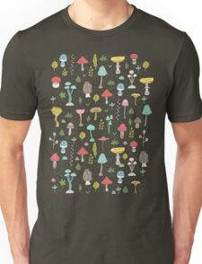 Mushrooms Unisex T-Shirt