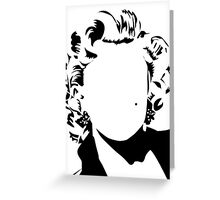 Marilyn - vacant expression Greeting Card