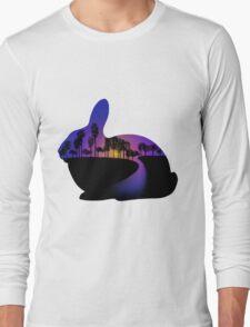 Sunset  Rabbit  Long Sleeve T-Shirt