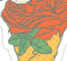 Rose ice cream Sticker