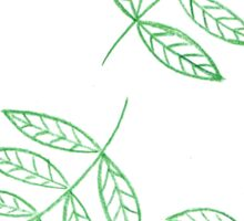 Green plants Sticker