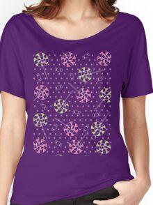 Sweet candy, lollipops pattern Women's Relaxed Fit T-Shirt