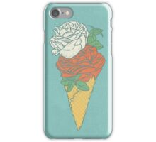 Rose ice cream iPhone Case/Skin