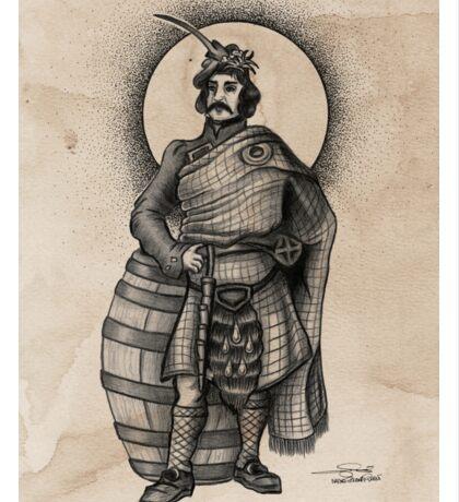 Scottish Male Sticker