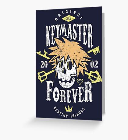 Keymaster Forever Greeting Card