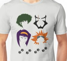 Cowboy Bebop faces Unisex T-Shirt