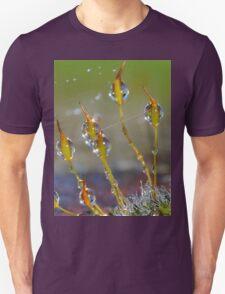 Macro Moss Grass Unisex T-Shirt