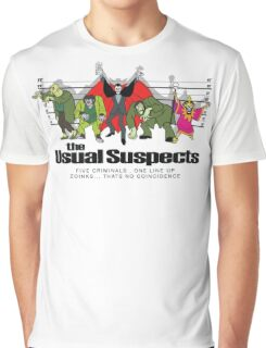 Usual Suspects Graphic T-Shirt