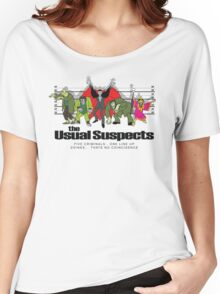 Usual Suspects Women's Relaxed Fit T-Shirt