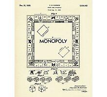 Board Game Apparatus-1935 Photographic Print