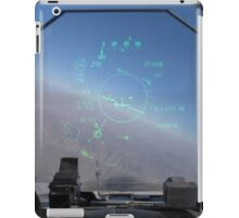 The view out the front! iPad Case/Skin