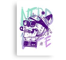 Nerd For Life! Canvas Print