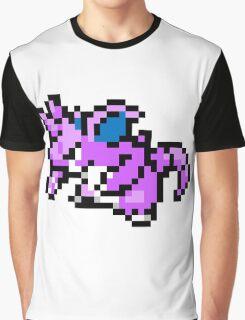 Pokemon 8-Bit Pixel Nidoking 034 Graphic T-Shirt