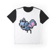 Pokemon 8-Bit Pixel Zubat 041 Graphic T-Shirt