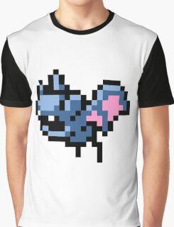 Pokemon 8-Bit Pixel Zubat 041 Graphic T-Shirt