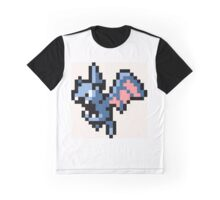 Pokemon 8-Bit Pixel Golbat 042 Graphic T-Shirt