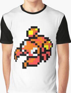 Pokemon 8-Bit Pixel Para 046 Graphic T-Shirt