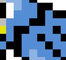 Pokemon 8-Bit Pixel Golduck 055 Sticker