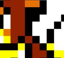 Pokemon 8-Bit Pixel Growlithe 058 Sticker