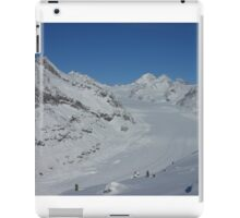 Aletsch glacier in Switzerland iPad Case/Skin
