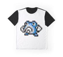 Pokemon 8-Bit Pixel Poliwhirl 061 Graphic T-Shirt