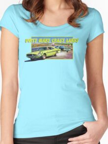 Dirty Mary Crazy Larry Women's Fitted Scoop T-Shirt