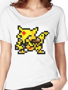 Pokemon 8-Bit Pixel Kadabra 064 Women's Relaxed Fit T-Shirt