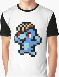 Pokemon 8-Bit Pixel Machop 066 Graphic T-Shirt