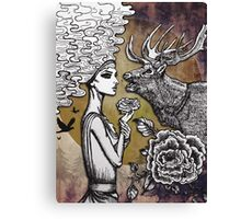 The Lonely Goddess Canvas Print