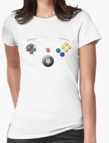 N64 Buttons Womens Fitted T-Shirt