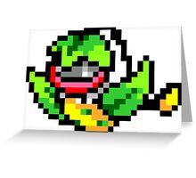 Pokemon 8-Bit Pixel Victreebel 071 Greeting Card