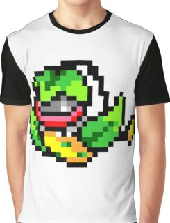 Pokemon 8-Bit Pixel Victreebel 071 Graphic T-Shirt