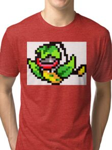 Pokemon 8-Bit Pixel Victreebel 071 Tri-blend T-Shirt