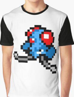 Pokemon 8-Bit Pixel Tentacool 072 Graphic T-Shirt