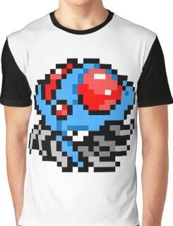 Pokemon 8-Bit Pixel Tentacruel 073 Graphic T-Shirt