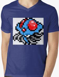 Pokemon 8-Bit Pixel Tentacruel 073 Mens V-Neck T-Shirt