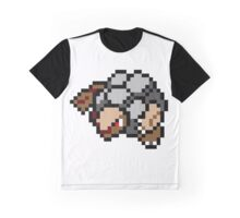 Pokemon 8-Bit Pixel Golem 076 Graphic T-Shirt