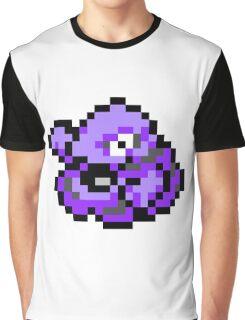 Pokemon 8-Bit Pixel Grimer 088 Graphic T-Shirt