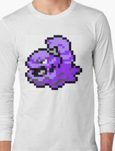 Pokemon 8-Bit Pixel Muk 089 Long Sleeve T-Shirt