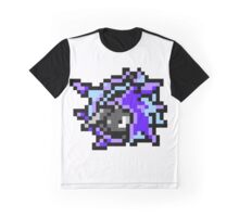 Pokemon 8-Bit Pixel Cloyster 091 Graphic T-Shirt