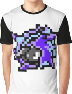 Pokemon 8-Bit Pixel Cloyster 091 Graphic T-Shirt