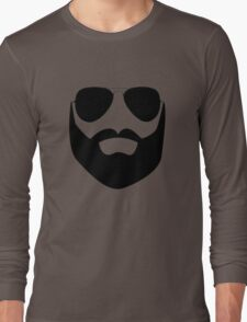 Beard and Sunglasses Long Sleeve T-Shirt