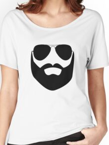 Beard and Sunglasses Women's Relaxed Fit T-Shirt