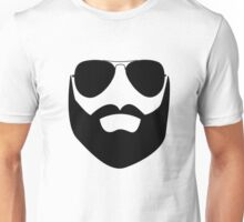Beard and Sunglasses Unisex T-Shirt