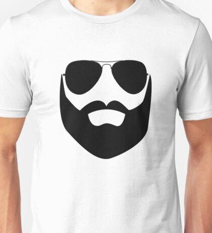 Beard and Sunglasses Unisex T-Shirt