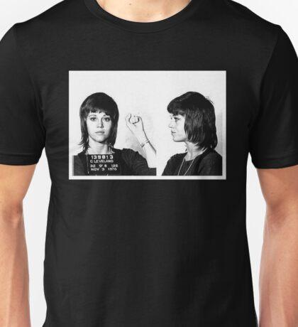 Jane Fonda Mugshot  Unisex T-Shirt