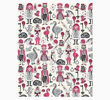 Alice in Wonderland fairy tale mad hatter queen white rabbit kids children print andrea lauren Classic T-Shirt