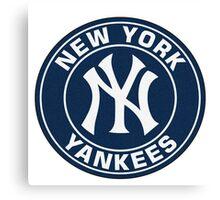 New York Yankees logo team Canvas Print