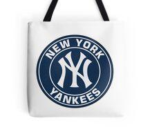 New York Yankees logo team Tote Bag
