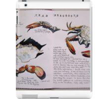 Crab Fragments iPad Case/Skin